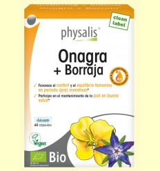Onagra y Borraja - Physalis - 60 cápsulas