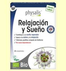 Relajación y Sueño Bio - Physalis - 45 comprimidos