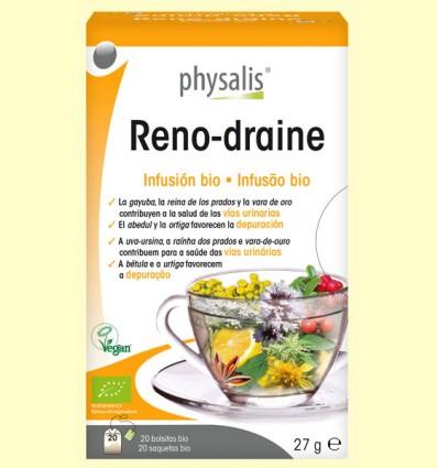 Reno-draine Infusión Bio - Physalis - 20 infusiones