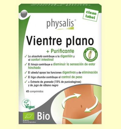 Vientre Plano Bio - Physalis - 45 comprimidos