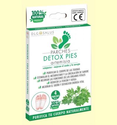 Parches Detox Pies Artemisia - DLG Salus - 4 unidades