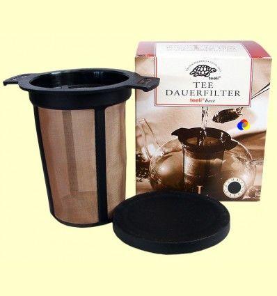 Tee Dauerfilter L - Filtro para preparar té - Teeli - 70 - 100 mm