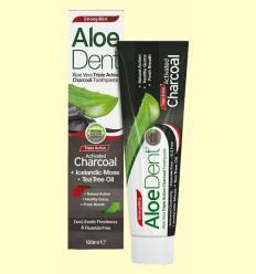 Aloe Dent - Dentífrico con Carbón Activo - Optima - 100 ml