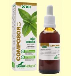 Composor 13 Oxiur Complex S XXI - Soria Natural - 50 ml