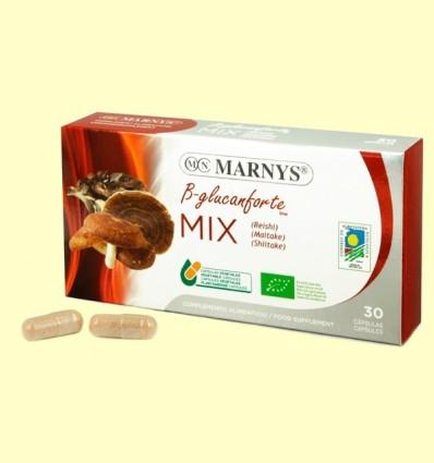 MIX de Setas B-glucanforte - Marnys - 30 cápsulas
