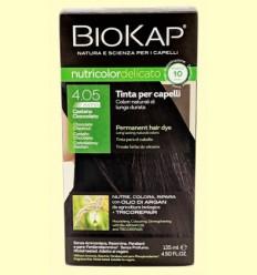 Tinte Delicato Rapid 4.05 Castaño Chocolate - Biokap - 140 ml