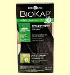 Tinte Delicato Rapid 5.0 Castaño Claro Natural - Biokap - 140 ml