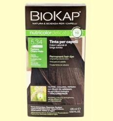 Tinte Delicato Rapid 5.34 Castaño Miel Claro - Biokap - 140 ml