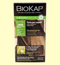 Tinte Delicato Rapid 8.03 Rubio Claro Natural - Biokap - 140 ml