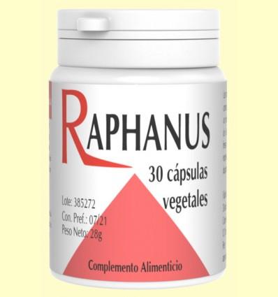 Raphanus - Raíz de Cochlearea - Codival - 30 cápsulas