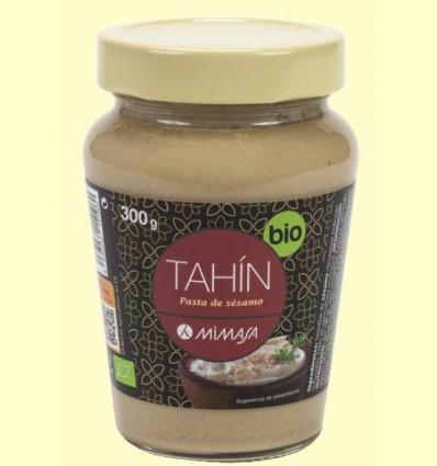 Tahin Bio - Pasta de Sésamo - Mimasa - 300 gramos