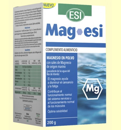 Mag Esi - Magnesio - Laboratorios Esi - 200 gramos