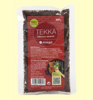 Tekka - Condimento - Mimasa - 100 gramos