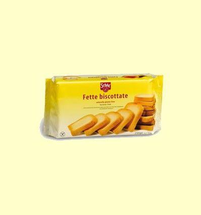 Fette biscottate - biscotes sin gluten - Schär - 250 gramos