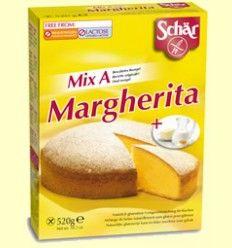 Preparado para tartas sin gluten Margherita - Mix A de la casa Schär 500 gr.