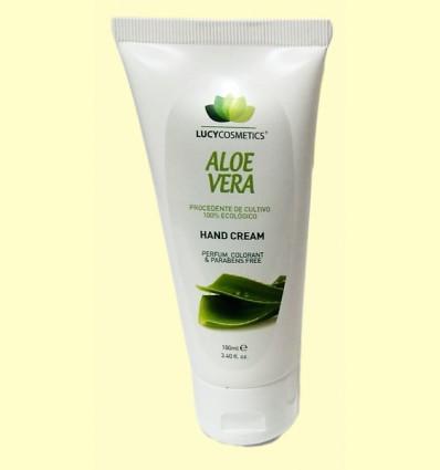 Crema de Manos con Aloe Vera - Lucy Cosmetics - Van Horts - 100 ml