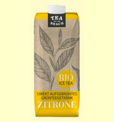 Bebida de Té Verde y Limón Bio - D&B - 500 ml