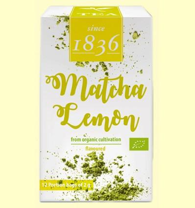 Té Verde en polvo Matcha Limón Bio - D&B - 12 bolsitas