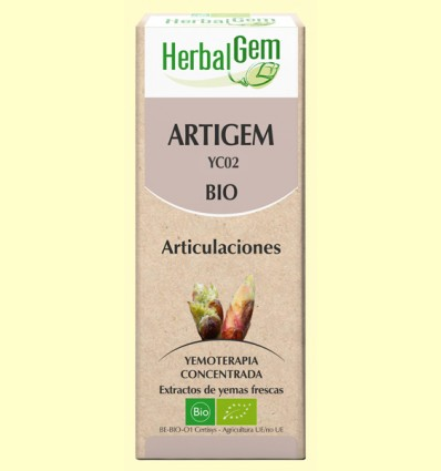 Artigem - Antiinflamatorio y antidolor - Herbal Gem - 50 ml