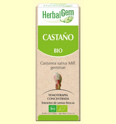 Castaño Bio - Yemoterapia - Herbal Gem - 50 ml
