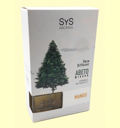 Ambientador Difusor Abeto Mango - Laboratorio SyS - 90 ml