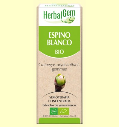 Espino blanco Bio - Yemoterapia - Herbal Gem - 50 ml