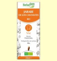 Jarabe de los Cantantes - HerbalGem - 250 ml