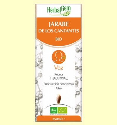 Jarabe de los Cantantes - Herbal Gem - 250 ml