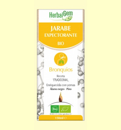 Jarabe Expectorante - HerbalGem - 150 ml