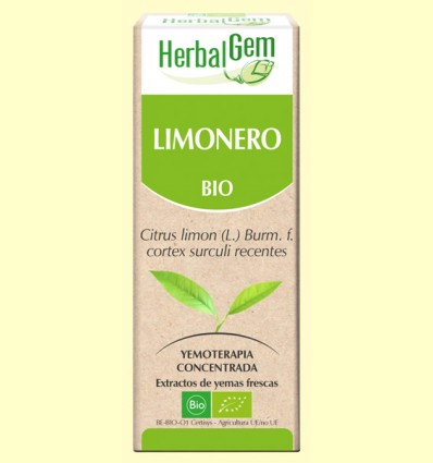 Limonero Bio - Yemoterapia - Herbal Gem - 50 ml