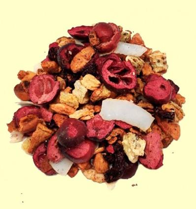 Infusión de Frutas con Cereza, Kiwi y Coco