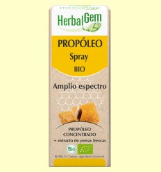 Propóleo Spray Amplio Espectro Bio - Herbal Gem - 15 ml