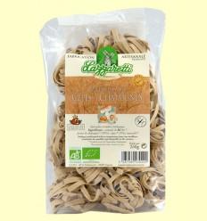 Tallarines de Setas y Castañas Bio - Lazzaretti - 250 gramos