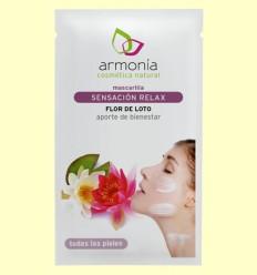 Mascarilla Facial Sensación Relax con Flor de Loto - Armonía - 10 gramos