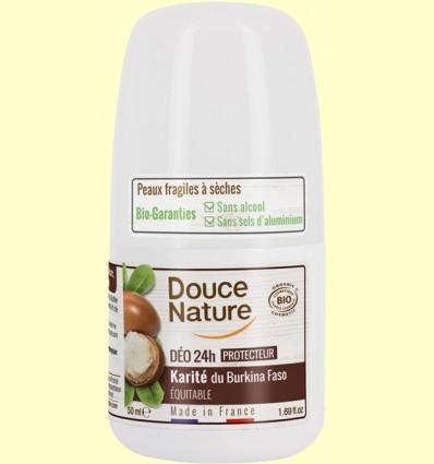 Desodorante Karité Roll On - Douce Nature - 50 ml