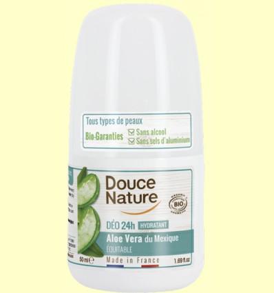 Desodorante Aloe Vera Roll On - Douce Nature - 50 ml