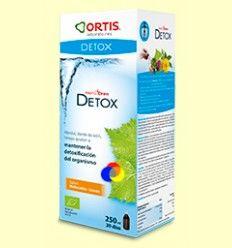 Metodren Detox - Ortis - Sabor melocoton-limón - 250 ml