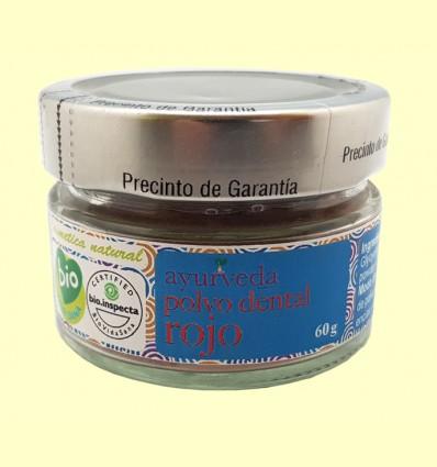 Polvo Dental Rojo - Ayurveda - 60 gramos