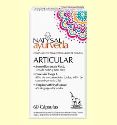 Articular Ayurveda - Natysal - 60 cápsulas