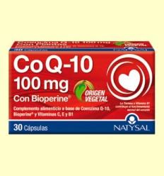 Coenzima Q10 - Natysal - 30 cápsulas