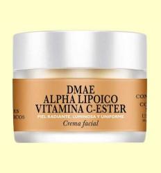 Crema Facial DMAE Alpha Lipoico Vitamina C-Ester - Natysal - 30 ml