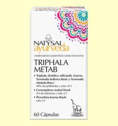 Triphala Metab Ayurveda - Natysal - 60 cápsulas