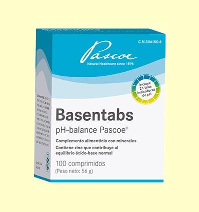 Basentabs pH balance - Laboratorio Cobas - 100 comprimidos