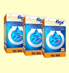 Nivelflex Triple Acción - Tongil - Pack 3 x 100 cápsulas