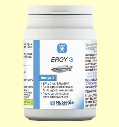 Ergy 3 - Omega 3 - Nutergia - 180 perlas