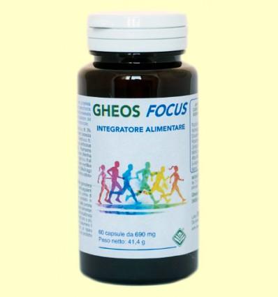 Focus - Gheos - 60 cápsulas