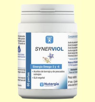 Synerviol - Omega 6 y Omega 3 - Nutergia - 60 perlas
