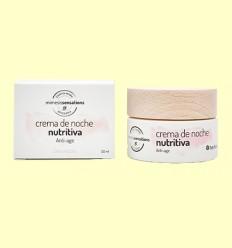 Crema de Noche Nutritiva Anti Edad - Herbora - 50 ml