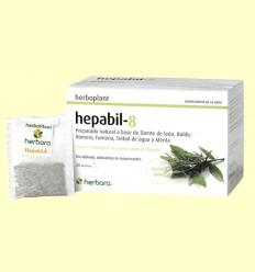 Hepabil-8 Infusión - Herbora - 20 filtros