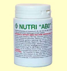 Nutri AB0 - Gheos - 60 comprimidos
